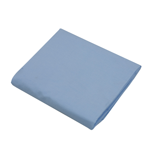 Mabis DMI Hospital Bedding Fitted Sheet Blue