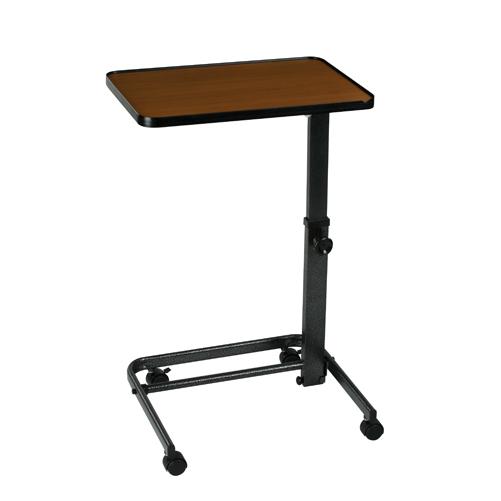 Mabis DMI Deluxe Heavy-Duty Over Bed Tilt-Top Table Black