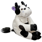 HealthSmart Margo Moo Stuffy with Reusable Hot & Cold Compress thumbnail