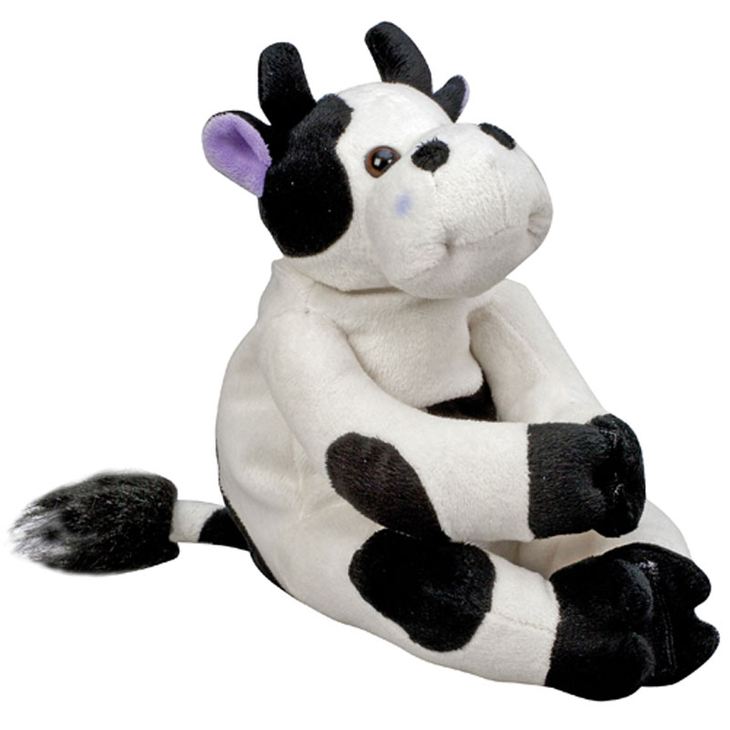 HealthSmart Margo Moo Stuffy with Reusable Hot & Cold Compress