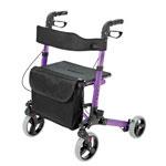 HealthSmart Gateway Rollator Purple thumbnail