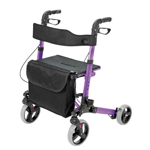 HealthSmart Gateway Rollator Purple
