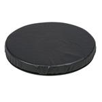 HealthSmart Deluxe Swivel Seat Black Leatherette