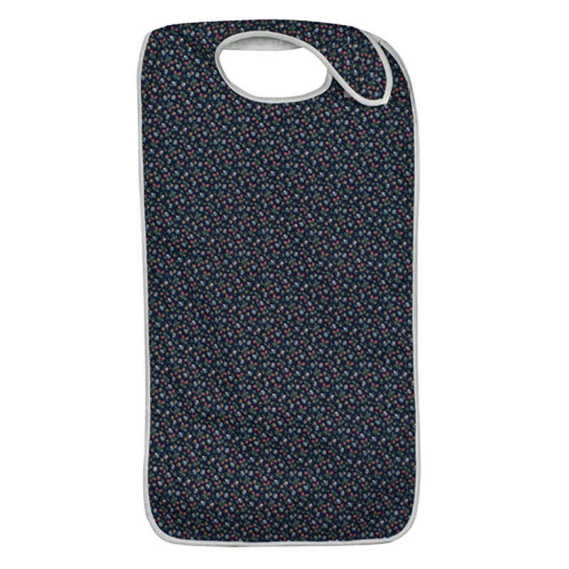 Mabis DMI Mealtime Protectors Fancy Navy
