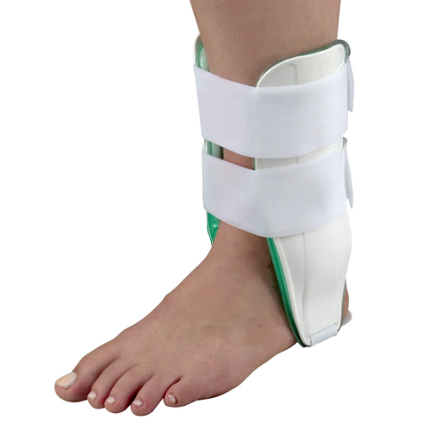 Mabis DMI Air Cast Ankle Braces Standard Left