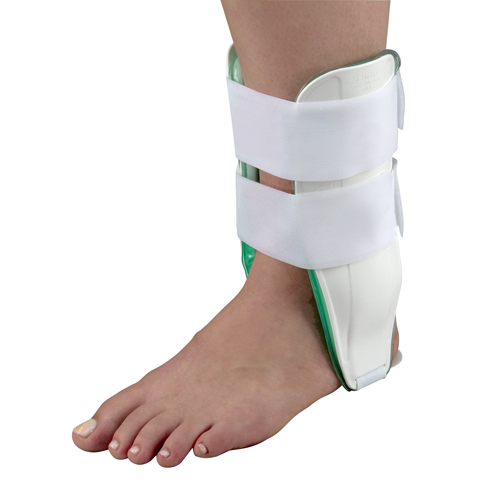 Mabis DMI Air Cast Ankle Braces Standard Right