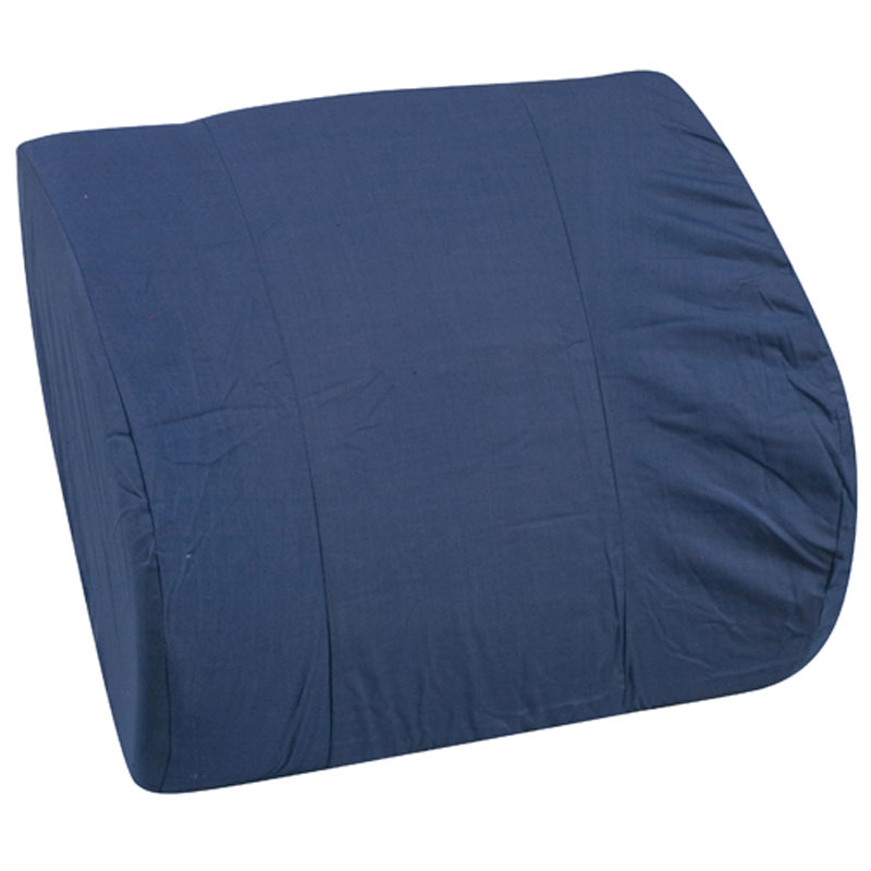 Mabis DMI Memory Foam Lumbar Cushion Navy