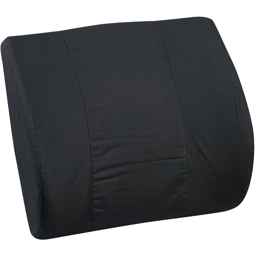 Mabis DMI Memory Foam Lumbar Cushion Black