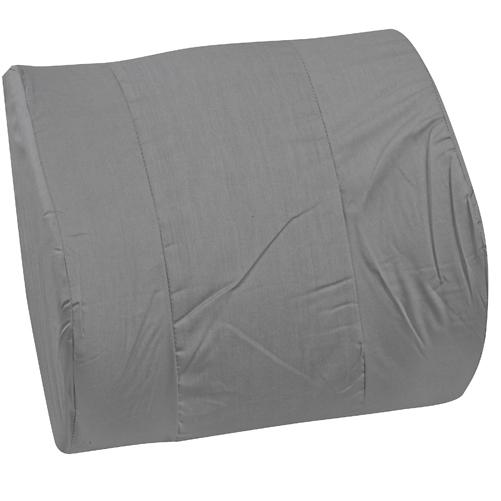 Mabis DMI Memory Foam Lumbar Cushion Gray