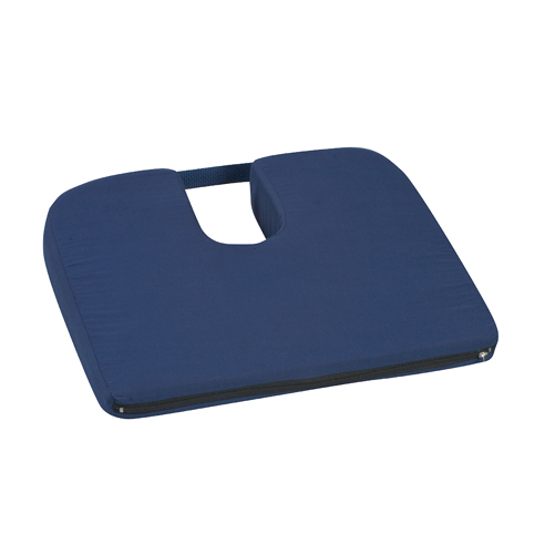 Mabis DMI Sloping Coccyx Cushions Navy