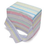 Mabis DMI Knee-ease Pillow Multi-Stripe 6x10x8