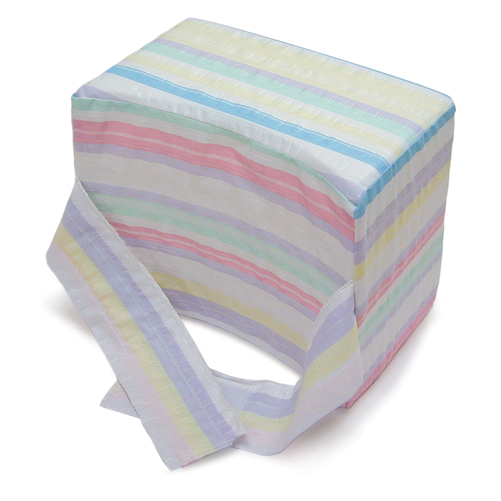 Mabis DMI Knee-ease Pillow Multi-Stripe 6x10x8