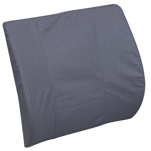 Mabis DMI Bucket Seat Lumbar Cushion Gray