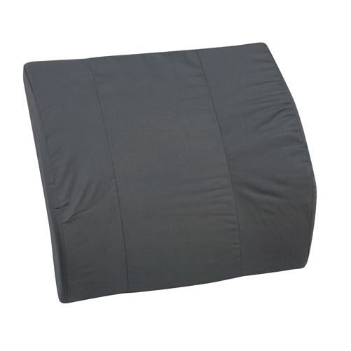 Mabis DMI Lumbar Cushions Black Bucket