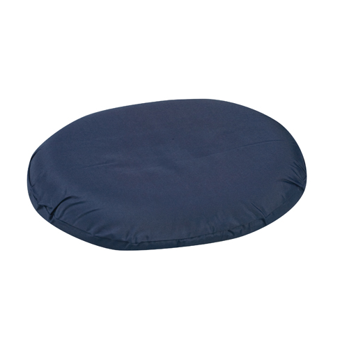 Mabis DMI Contoured Foam Ring Cushion Navy 14x12-1/2x3