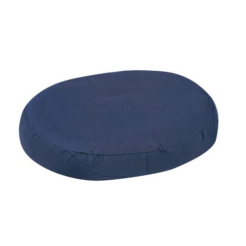 Mabis DMI Contoured Foam Ring Cushions Navy 16x13x3