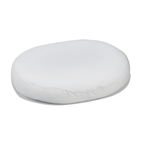 Mabis DMI Contoured Foam Ring Cushion White 16x13x3