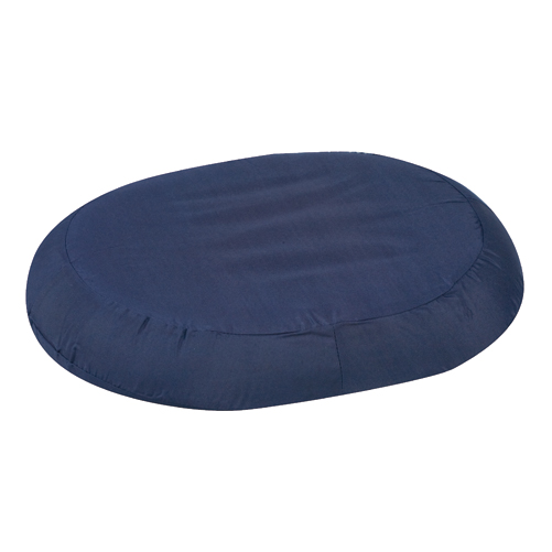 Mabis DMI Contoured Foam Ring Cushions Navy 18x15x3