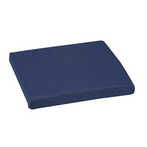 Mabis DMI Polyfoam Wheelchair Cushion Standard Navy 16x18x2