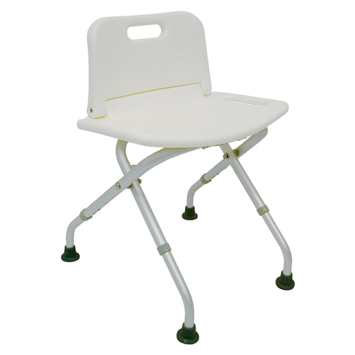 Mabis DMI Folding Shower Seat with Backrest