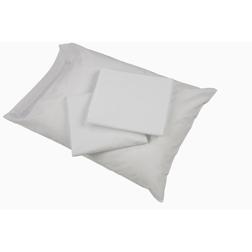 Mabis DMI Hospital Bedding Sheet Set White