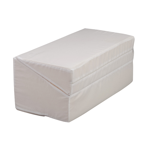 HealthSmart Foldable Bed Wedges White 24x24x12