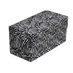 HealthSmart Foldable Pattern Bed Wedge Zebra Pattern 24x24x12