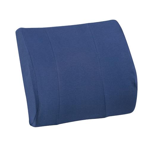 Mabis DMI RELAX-A-BAC Lumbar Cushions Navy