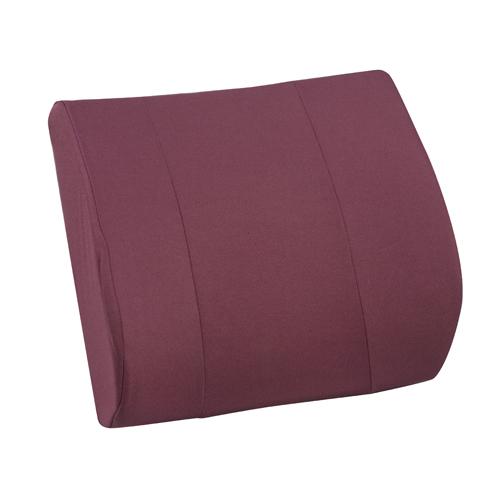 Mabis DMI RELAX-A-BAC Lumbar Cushions Burgundy
