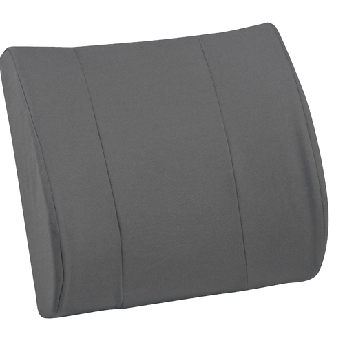 Mabis DMI RELAX-A-BAC Lumbar Cushion Gray