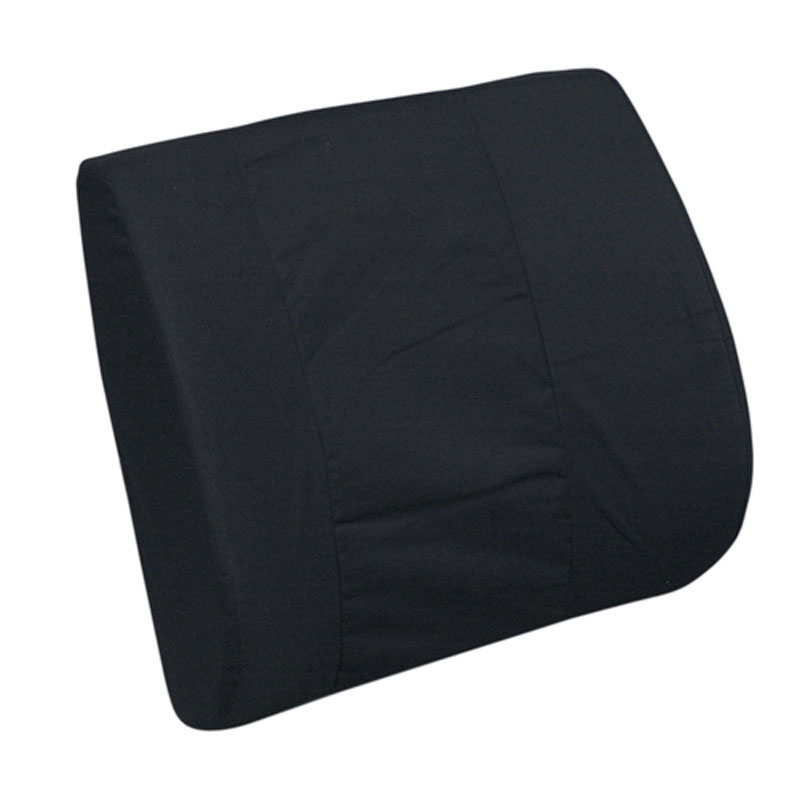 Mabis DMI Standard Lumbar Cushion Black