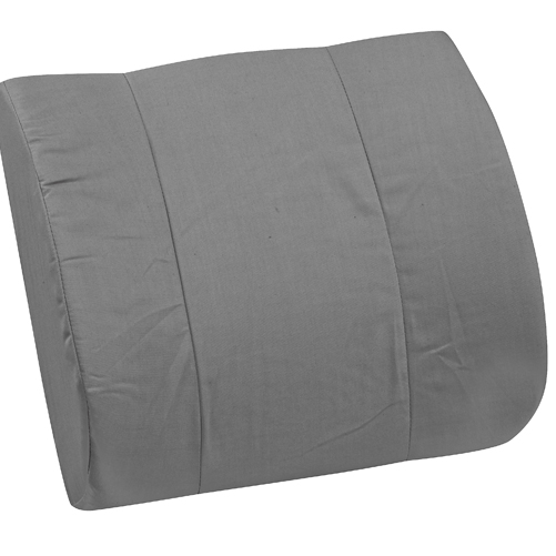 Mabis DMI Standard Lumbar Cushion Gray
