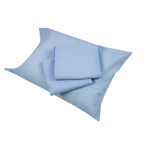 Mabis DMI Hospital Bedding Sheet Set Blue