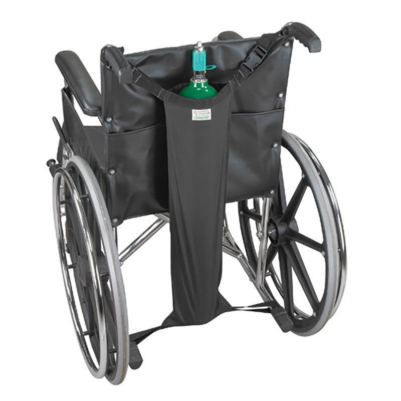 Mabis DMI Oxygen Tank Holder for Wheelchairs