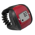 HealthSmart Ring Heart Rate Monitor Red