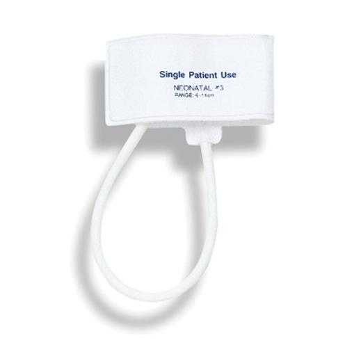 Mabis Neonatal Single Tube Blood Pressure Cuff 3 Fits 6-11 cm