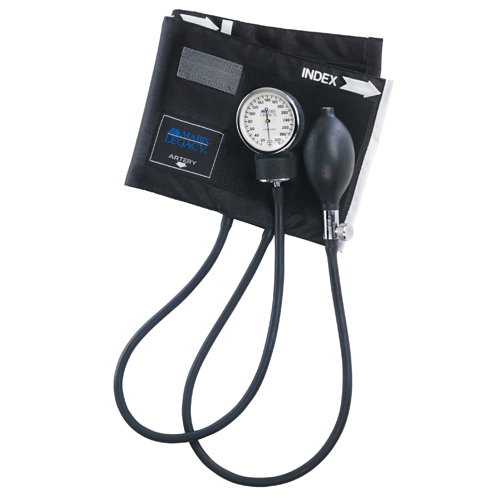 Mabis Legacy Latex Free Aneroid Sphygmomanometer Large Adult