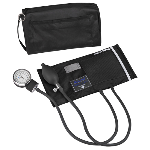 Mabis MatchMates Aneroids Sphygmomanometers Kit Black