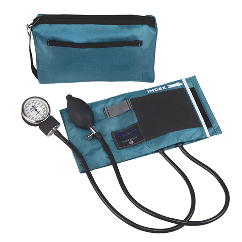 Mabis MatchMates Aneroids Sphygmomanometers Kit Teal