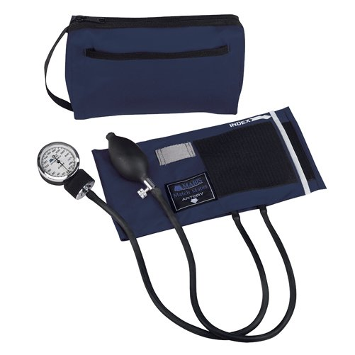 Mabis MatchMates Aneroids Sphygmomanometers Kit Navy