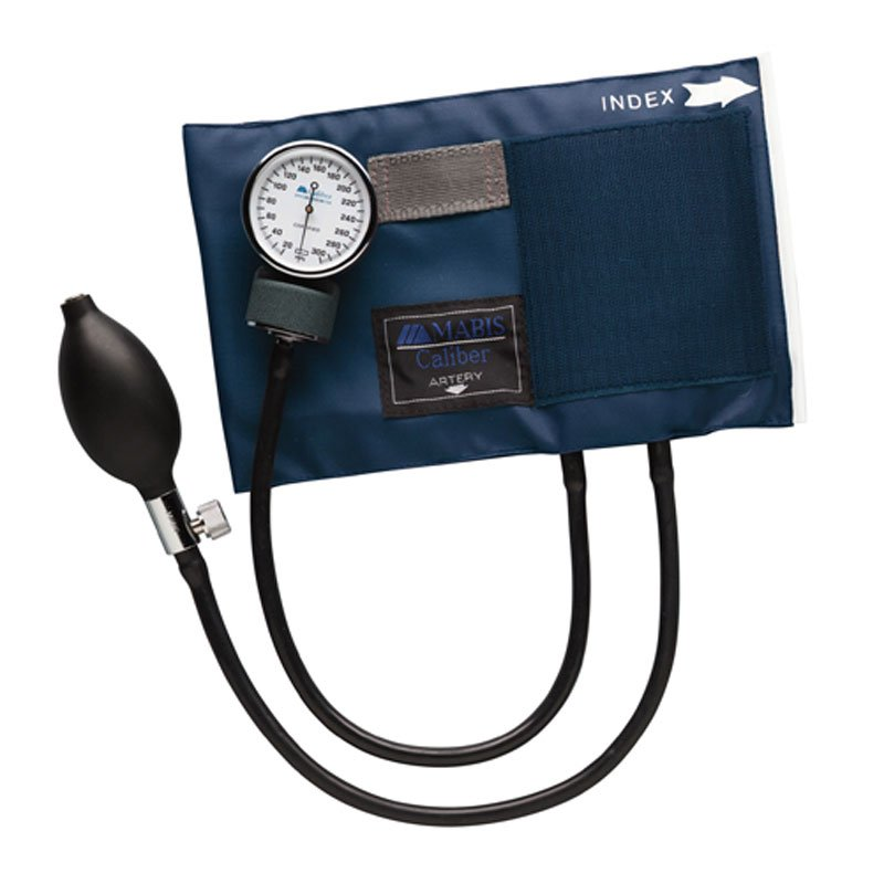 Mabis Caliber Series Aneroid Sphygmomanometer Large Adult