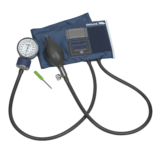 Mabis Caliber Series Adjustable Aneroid Sphygmomanometer Child