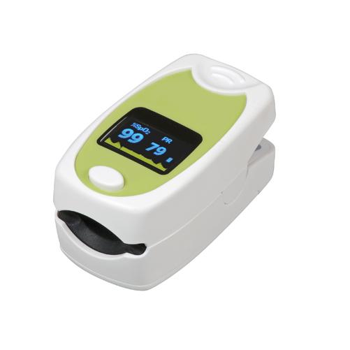 HealthSmart Fingertip Pulse Oximeter Deluxe