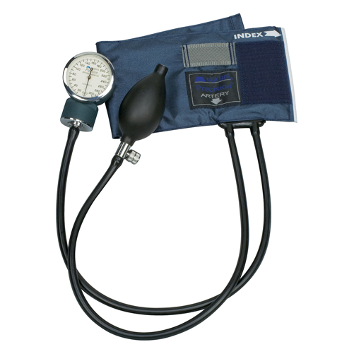 Mabis Precision Series Latex Free Aneroid Sphygmomanometer Large Adult