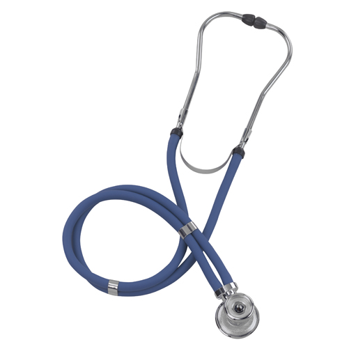 Mabis Legacy Sprague Rappaport-Type Stethoscopes Blue