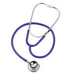Mabis Spectrum Dual Head Stethoscope Blue