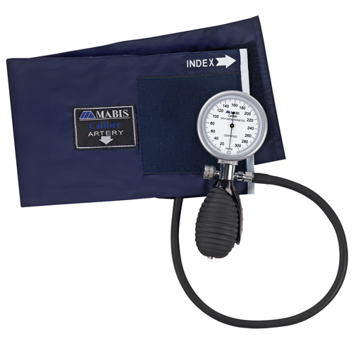 Mabis Caliber Series Palm Aneroid Sphygmomanometer Adult