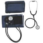 Mabis DMI MatchMates Sphygmomanometer & Stethoscope Kit Hunter Blue