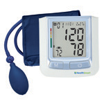 HealthSmart Semi-Automatic Arm Digital Blood Pressure Monitor