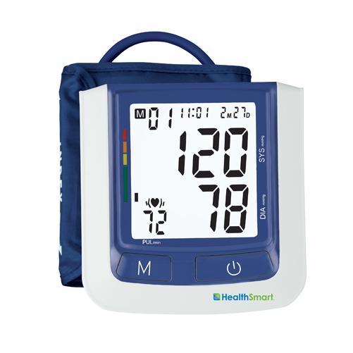 HealthSmart Auto Arm Digital Blood Pressure Monitor Standard Cuff